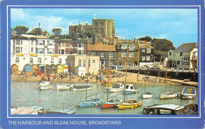 uk10324 bleak house and harbour broadstairs  uk
