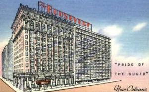 Roosevelt Hotel New Orleans LA Unused