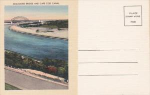 Massachusetts Cape Cod Sagamore Bridge and Cape Cod Canal