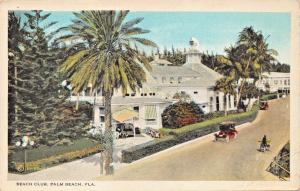 PALM BEACH FLORIDA~BEACH CLUB-ALBERT GUIONNAUD POSTCARD 1920s