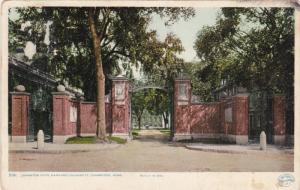 Detroit Pub. Co.: Johnson Gate, Harvard University, Cambridge, Massachusetts ...
