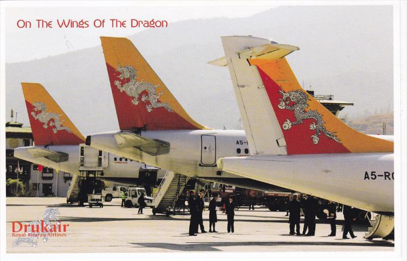 Drukair Royal Bhutan Airlines , Airplanes , ATR 42-500 , 2012