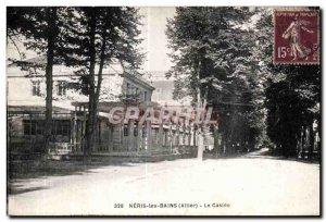 Old Postcard Neris les Bains Allier Casino