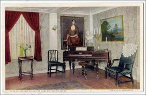 Parlor,  House of Seven Gables, Salem MA