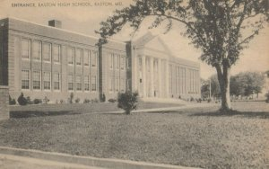 EASTON , Maryland, 1910-30s ; Entrance Easton High School