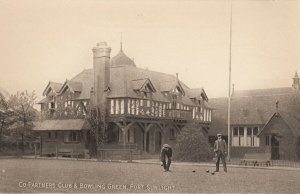 PORT SUNLIGHT , UK , 1900-10s ; Co-Partners Club & Bowling Green