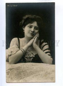 193795 Marga BIZET Dancer OPERA Singer ACTRESS Vintage photo