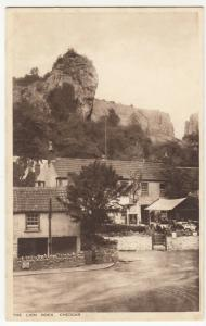 Somerset; The Lion Rock, Cheddar PPC, c 1920's, By AGH Gough, Unposted