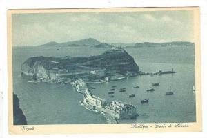 Aerial View, Posillipo, Tsola di Nisida, Napoli, Campania, Italy, 10-20s