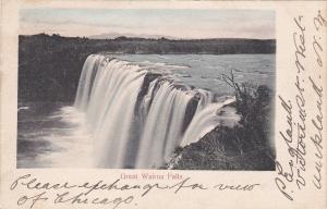 Great Wairu Falls , New Zealand , PU-1905