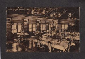 WI Dining Room Chula Vista Resort Hotel Wisconsin Dells Postcard Artvue Card
