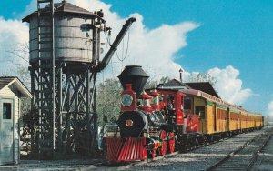 10515 Passenger Train at Frontierland, Disneyland, California 1961