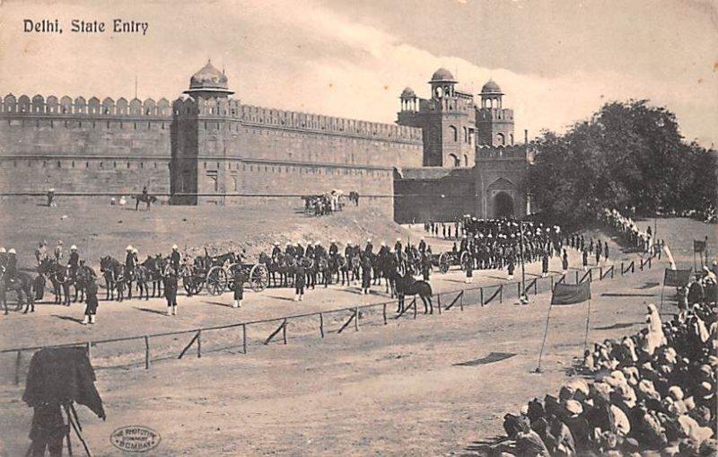 State Entry Delhi Belgium Unused