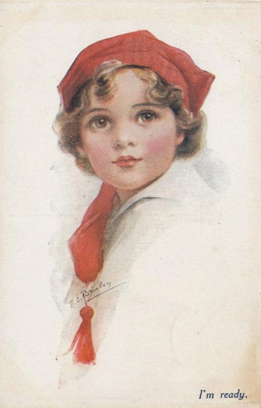 Child Portrait I'm Ready, 1908