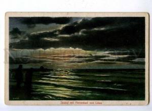 192560 Latvia Liepaja LIBAU Vintage postcard