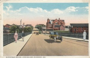 RICHMOND , Indiana, 1916 ; Main Street Bridge , East