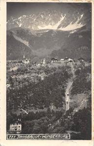 Innsbruck Hungerburg Gesamtansicht Berg Mountain Panorama