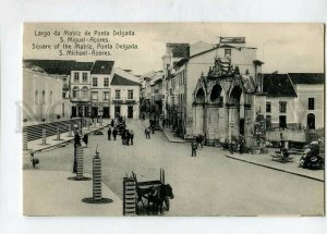 3144753 PORTUGAL Azores ACORES S.Michael Square of Matriz
