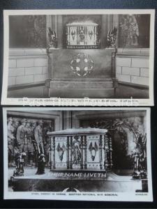 2 x Early RP - Stone of Remembrance, Scottish National War Memorial, Edinburgh