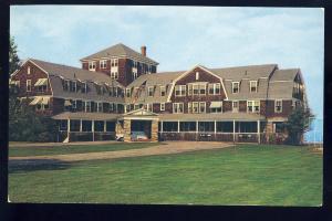 Ogunquit, Maine/ME Postcard, Sparhawk Hall At The Salt Water's Edge