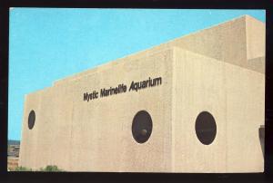Mystic, Conn/CT Postcard, Mystic Marinelife Aquarium