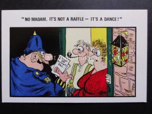 Policeman Theme POLICEMANS BALL - NO MADAM, IT'S NOT A RAFFLE - IT'S A DANCE