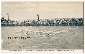 Swimming Races, Beech Club Pool, Rye NY