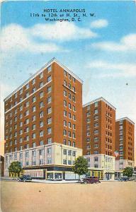 Hotel Annapolis 11th -12th St. at H. Washington DC Linen