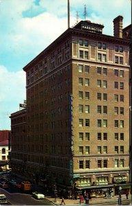 Harrington Hotel, Washington DC. Vintage Postcard AD ART VINTAGE