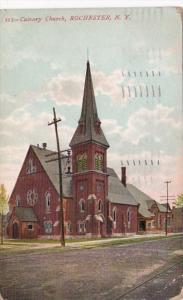 New York Rochester The Calvary Church 1910