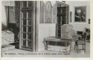 Escorial dormitorio de la Infanta Isabel Clara Eugenia photo postcard