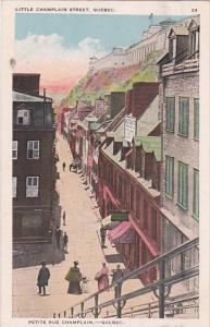 Little Champlain Street, QUEBEC, Canada, PU-1905