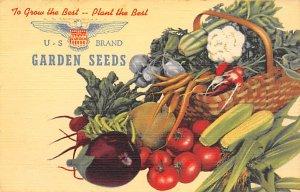 US Brand Garden Seeds Advertising Unused