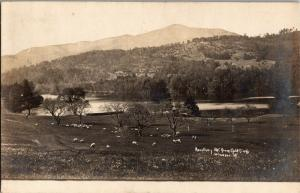 Ascutney Mt. from Golf Links, Windsor Vermont c1908 Vintage Postcard M30