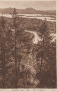 Scotland Postcard - Islands Near Luss, Loch Lomond RS23642