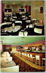 Rockford, IL Postcard LINCOLN LOUNGE 206 North Church Street Bar Roadside 1960s