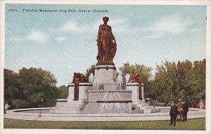 Colorado Denver Thatcher Monument In city Park