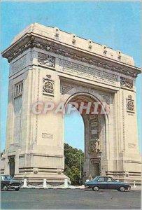 Postcard Modern Romania Arc de Triomphe