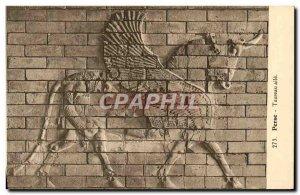 Old Postcard Persia Taurus wing