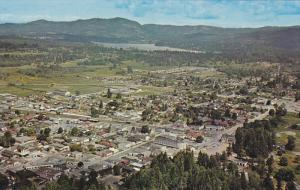 Aerial view of Duncan,  B.C.,  Canada,  40-60s