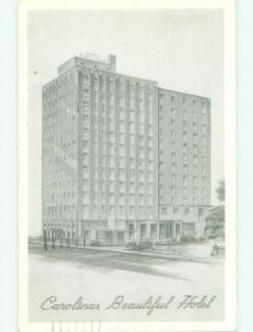 Pre-1980 BARRINGER HOTEL Charlotte North Carolina NC HQ5855