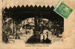 CPA TAMATAVE Salle a Manger d'un hotel MADAGASCAR (709593)