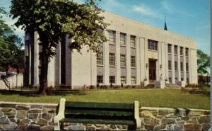 Memorial Library in Grafton Park - Halifax NS, Nova Scotia, Canada