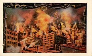CA - San Francisco. 1906 Earthquake & Fire