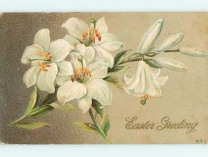 Divided-Back easter BEAUTIFUL LILY FLOWERS r2995