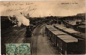 CPA ORLÉANS-La Gare (266058)