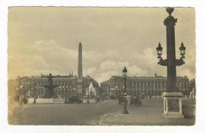 RP, Place De La Concorde, Paris, France, 1920-40s