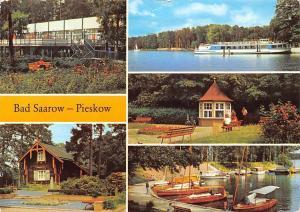Bad Saarow Pieskow, Strandgaststaette Solquelle Jachthafen am Fontane Park