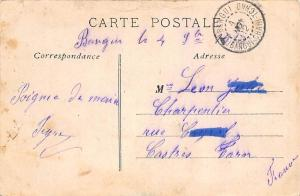 Central African Rep. Congo Francais Haut Oubangui Groupe de Banziris Ubangi 1912