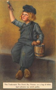 The Dutch Boy Painter Poster Paint Advertising Postcard